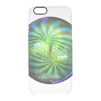 Shiny Christmas Circus Bubble Bauble Clear iPhone 6/6S Case