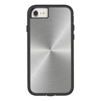Shiny Circular Polished Metal Texture Case-Mate Tough Extreme iPhone 7 Case