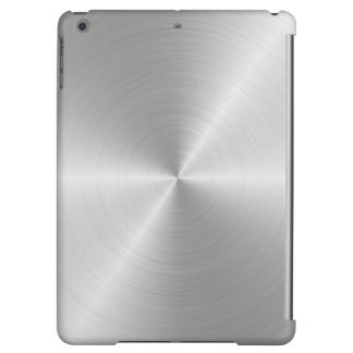Shiny Circular Polished Metal Texture iPad Air Case