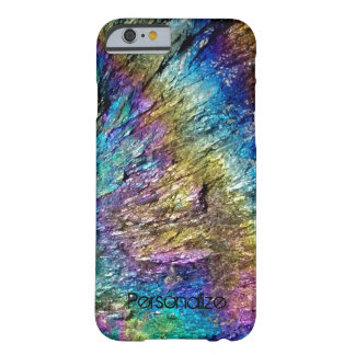 Shiny colored abstract pattern stone iPhone 6 case