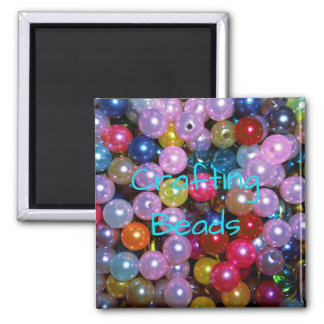 Shiny Colorful Beads Magnet