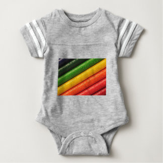 shiny colors baby bodysuit