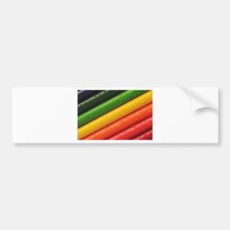 shiny colors bumper sticker