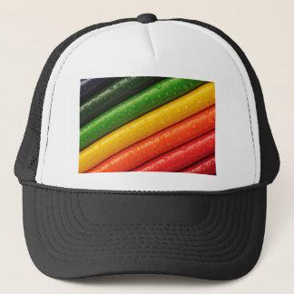 shiny colors trucker hat