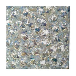 Shiny Crystals Ceramic Tile Trivet