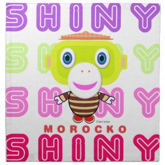 Shiny-Cute Monkey-Morocko Napkin