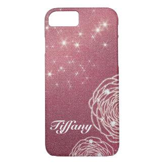 Shiny Diamond Rose iPhone 8/7 Case