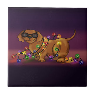 Shiny Dog Tile