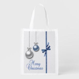 Shiny Elegant Christmas Balls - Reusable Bag
