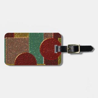 Shiny Emalie pattern Luggage Tag