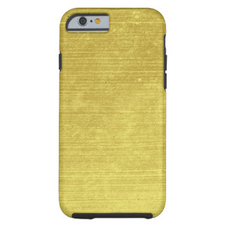 Shiny faux gold stone look electronics tough iPhone 6 case