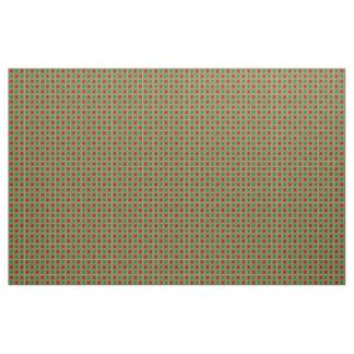 Shiny Festive Squares Fabric
