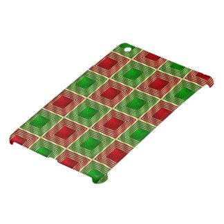 Shiny Festive Squares iPad Mini Cases