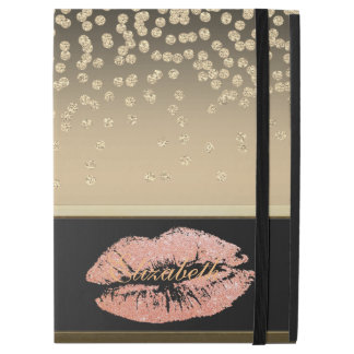 Shiny Foil Confetty Or Diamond ,Lips-Personalized