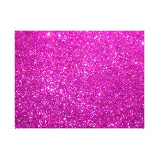 Shiny Glamour Sparkley Glitter Canvas Print