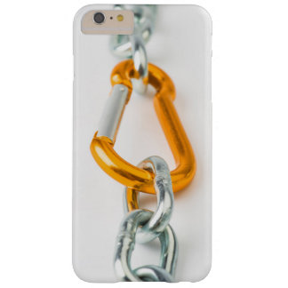 Shiny Gold and Silver Colors Chain Clip Barely There iPhone 6 Plus Case