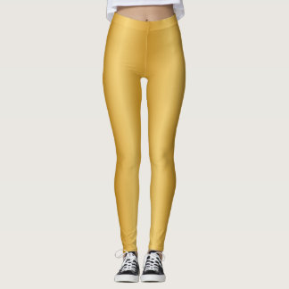 Shiny Golden Leggings