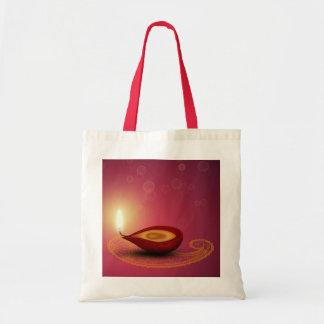 Shiny Happy Diwali Diya - Bag