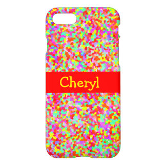 Shiny Hundreds & Thousands Multicolor Sprinkles iPhone 7 Case
