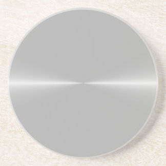 Shiny Like Steel Metal Background Template Coaster