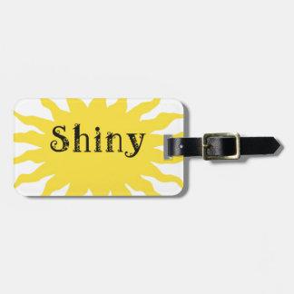 Shiny Luggage Tag
