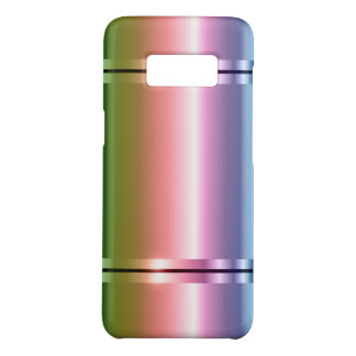 Shiny Metallic Gradient Purple To Green Case-Mate Samsung Galaxy S8 Case