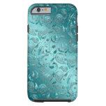 Shiny Paisley Turquoise iPhone 6 Case