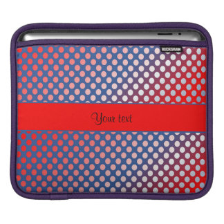Shiny Patriotic Dots Sleeves For iPads