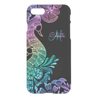 Shiny Rainbow Lace Monogram iPhone 7 Case