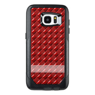 Shiny Red OtterBox Samsung Galaxy S7 Edge Case
