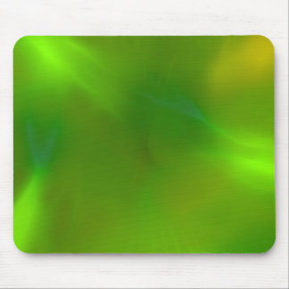Shiny Shimmering Lime Green Mouse Pad