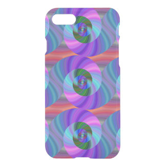 Shiny spiral pattern iPhone 7 case