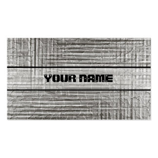 Shiny Stainless Steel Metal 2 Business Card