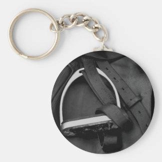 Shiny Stirrup Keychain