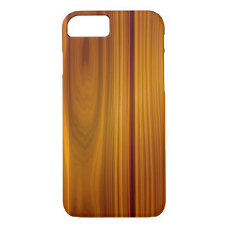 SHINY STRIATED WOOD PANEL iPhone 7 CASE