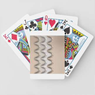 Shiny Waves Bicycle Playing Cards