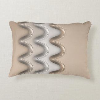Shiny Waves Decorative Pillow