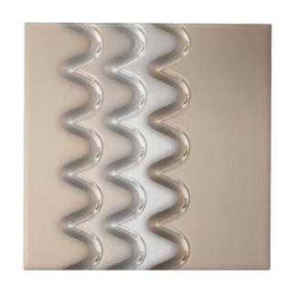 Shiny Waves Tile