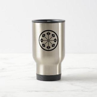Shionada pinwheel travel mug