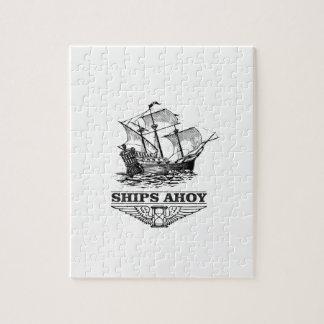 ship ahoy boat jigsaw puzzle