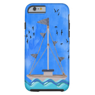 SHIP AHOY  iPHONE 6 BARELY THERE Tough iPhone 6 Case