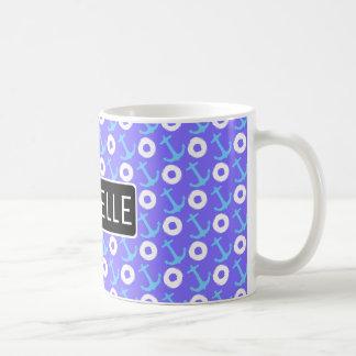 Ship Ahoy Personalized Coffee Mug