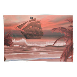 SHIP AHOY PILLOWCASE