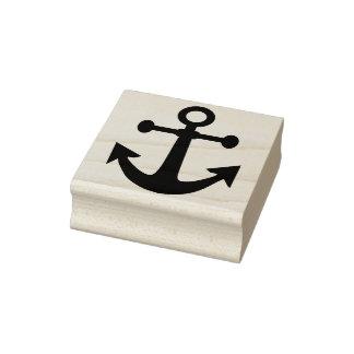 ship anchor art stamp