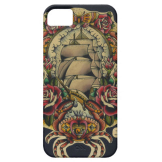 ship and crabs case for the iPhone 5