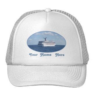 Ship at Sea Custom Trucker Hat