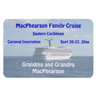 Ship at Sea Stateroom Door Marker Flexible Magnet