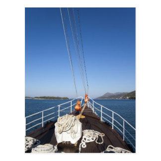 Ship Bow Postcard