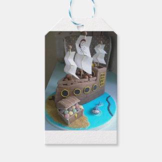 Ship cake 1 gift tags