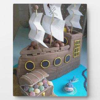 Ship cake 1 plaque